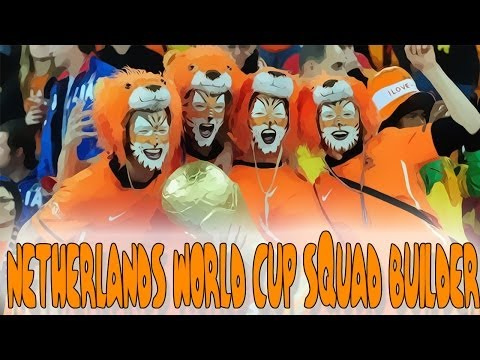Ultimate World Cup Tournament - Netherlands Squad Builder