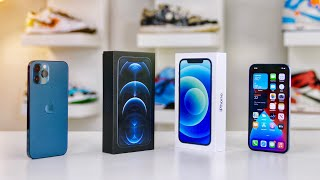 iPhone 12 & iPнone 12 Pro Unboxing with Camera Test