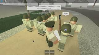 Roblox Fort bragg completing obby able, baker and the twers.