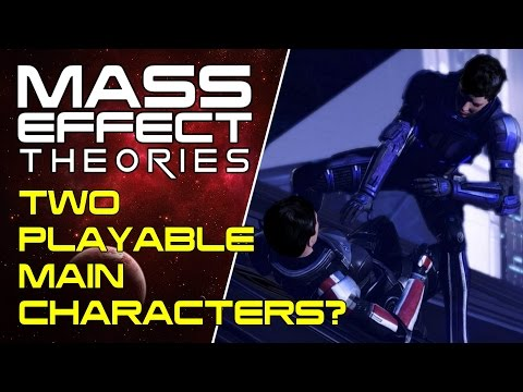 Two Playable Main Characters in Mass Effect Andromeda? - Mass Effect Odyssey