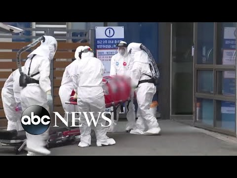 Fears of coronavirus pandemic growing as cases rise in South Korea