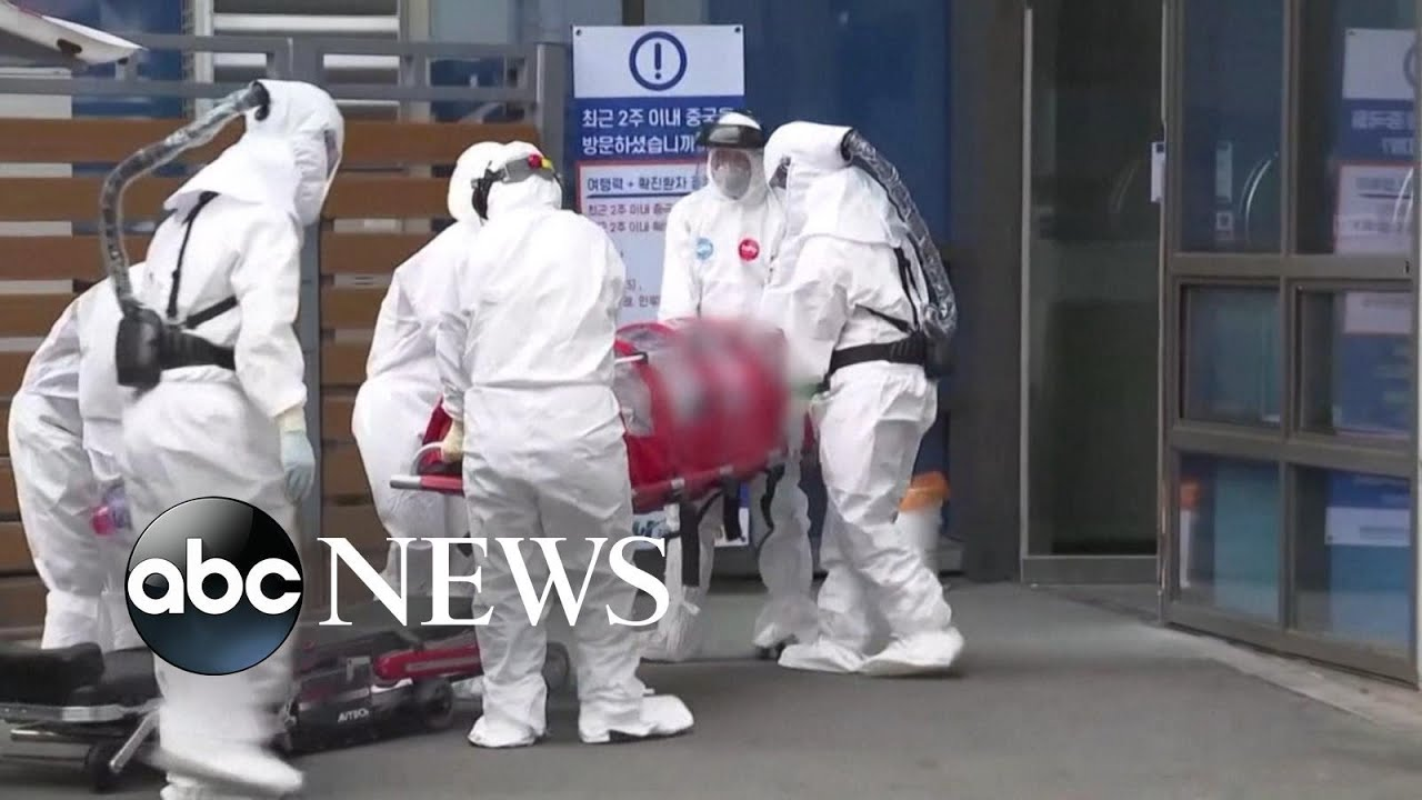 Fears of coronavirus pandemic growing as cases rise in South Korea ...