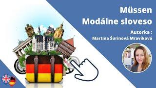 #6 Nemčina - modálne sloveso MÜSSEN
