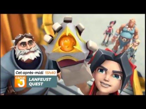 Les héros de Lanfeust Quest sont sur Canal J !