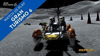How To Drive A Lunar Rover In Gran Turismo 6