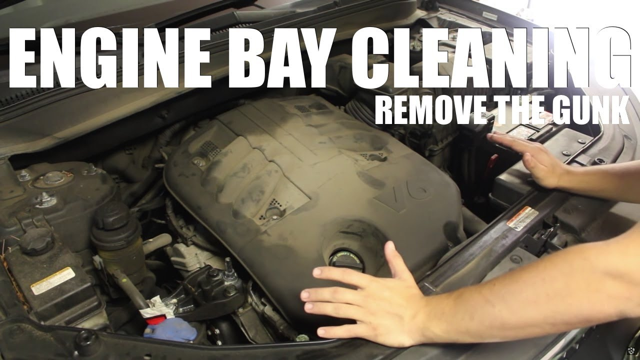 How To Safely Clean Your Engine Bay Old Method Youtube