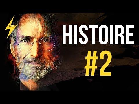 Steve Jobs - L'histoire la plus MOTIVANTE qui soit (partie 2/3)