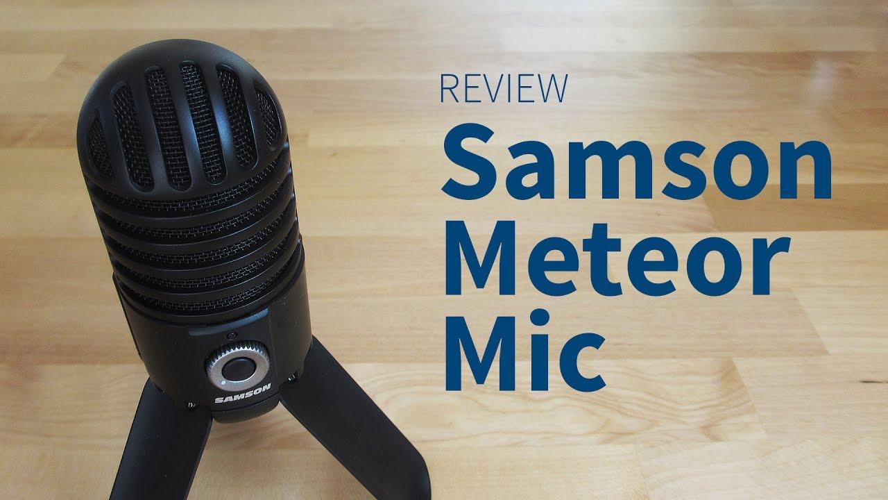 samson meteor mic review sound test und erfahrungsbericht youtube. Black Bedroom Furniture Sets. Home Design Ideas