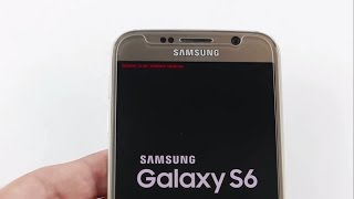 Solved/Fix Recovery is not Seandroid Enforcing Samsung Galaxy S6/S6 Edge (2 Easy Method)