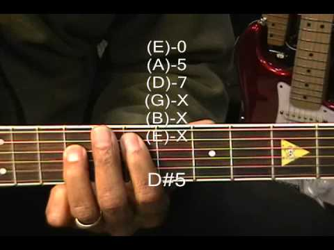 Toto Style Guitar Chord Form Tutorial #132 Power Chords 5ths Lesson ...