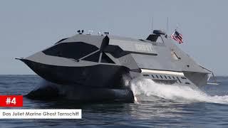 10 streng geheime Militärfahrzeuge