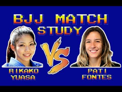 BJJ Match Study: Rikako 'Lasso Wizard' Yuasa vs Pati Fontes (World Championship 2014)