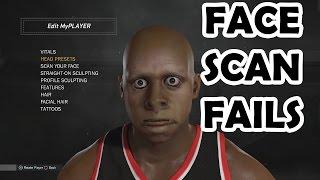 NBA 2K17 My Face Scan Fails