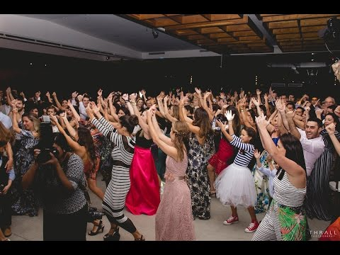 The BIGGEST flash mob WEDDING DANCE surprise!!! With ALL the wedding guests!