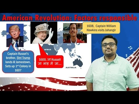 WHUS/P1: World History- American Revolution: Factors responsible for UPSC Mains GS1