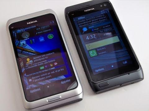 Comparaison Nokia N8 / E7 - Test-Mobile.fr - Blog-n8.fr