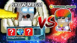 Legendary Katana vs Legend [Show Battle / Don't Judge Noobs]   Growtopia