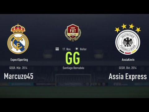 🔥🎮 TOP 1 vs. Top 84 / PS4 🎮🔥 - ExpectSporting vs. AssiaKevin - Fut Champions Channel - WL7 -
