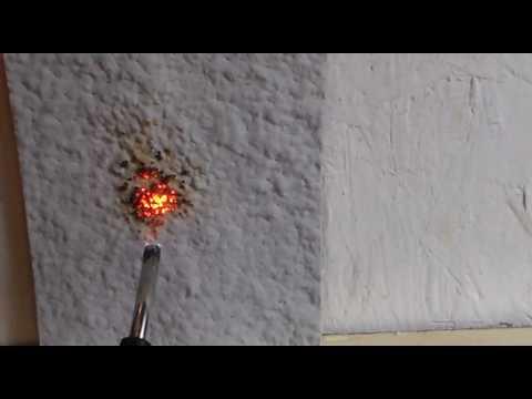 DC315 Fire Retardant Intumescent Paint for Spray Foam Insulation - demo