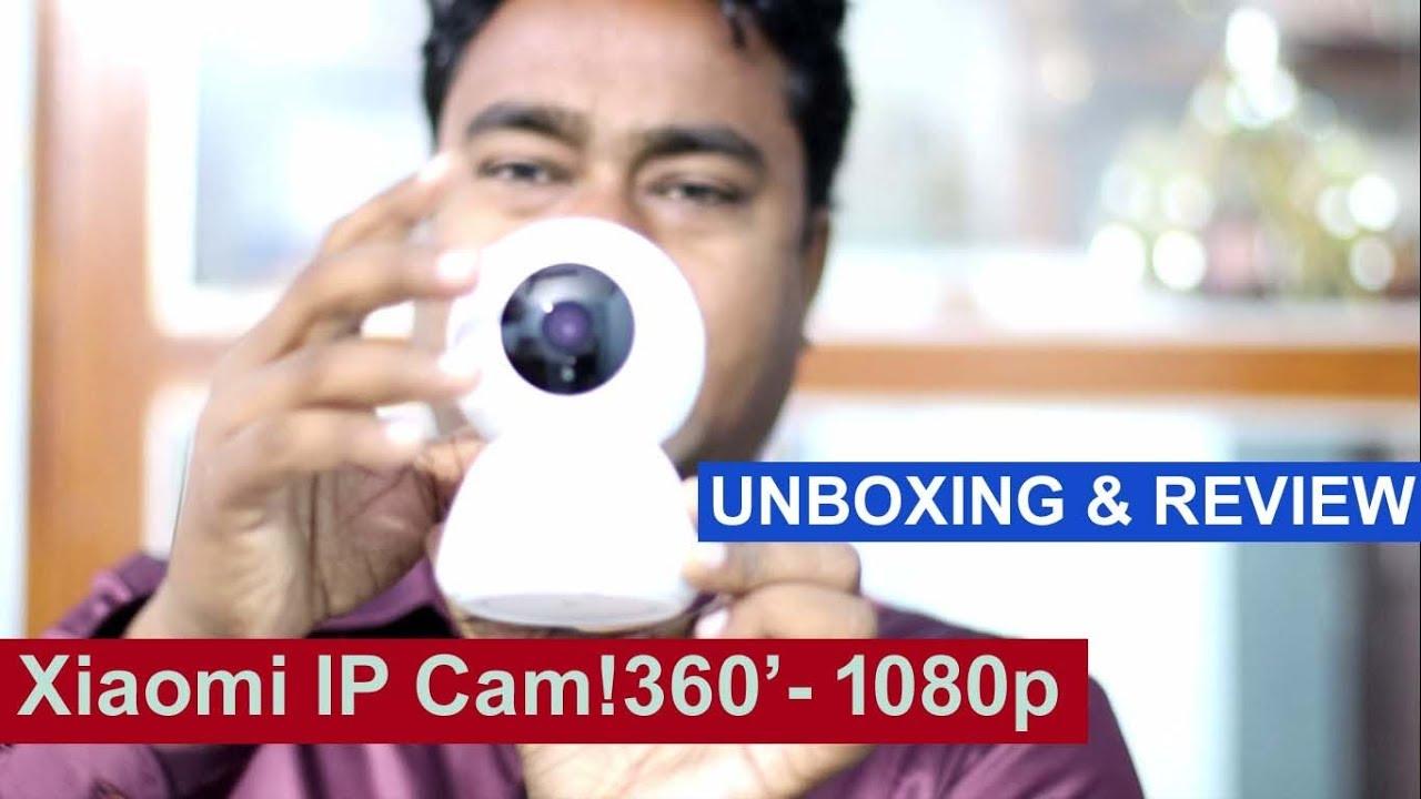 Xiaomi Wireless Smart IP CCTV Camera - 360' - 1080p ! Review & Unboxing