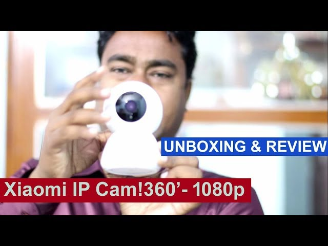 Xiaomi Wireless Smart IP CCTV  Camera - 360' - 1080p ! Review & Unboxing