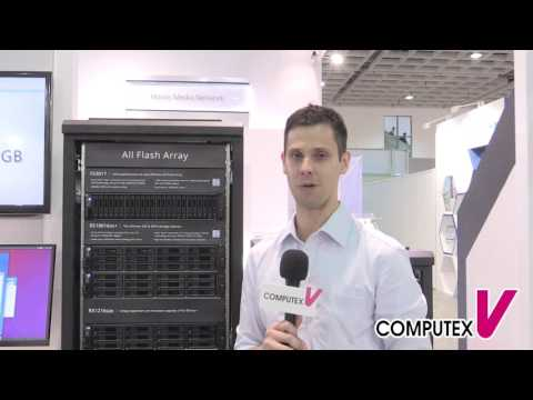 【2016 COMPUTEX TAIPEI】Synology Inc. - FlashStation FS3017