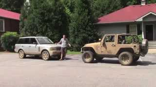 Download Off-Roading in a 2006 Range Rover Mp3 and Videos