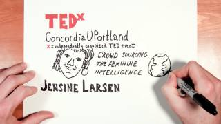 Jensine Larsen TEDxConcordiaUPortland Time-Lapse Introduction