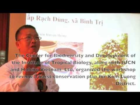Karst Conservation Workshop in Kien Giang Province, Vietnam