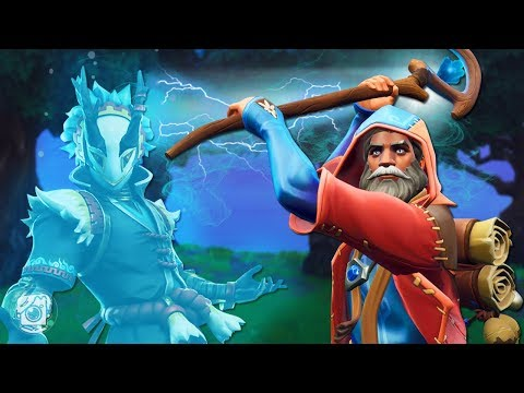 CASTOR THE WIZARD SUMMONS A SECRET SPIRIT?! *NEW CASTOR SKIN* - A Fortnite Short Film