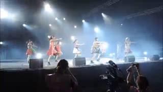 Concert des Cheeky Parade le Jeudi 7 juillet 2016 lors de la Japan ...