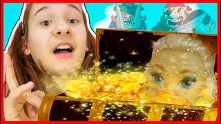 НАШЛИ СОКРОВИЩА КУКЛЫ золотая кукла распаковка ИГРАЕМ В КУКЛЫ И ИЩЕМ ЗОЛОТО С ДУРАЛЯШКОЙ Монстер Хай