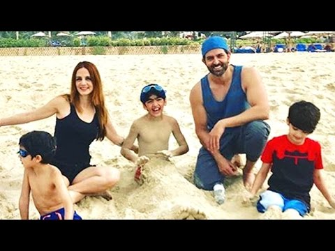 Hrithik Roshan Holidaying With Ex Wife Suzanne Roshan After Divorce