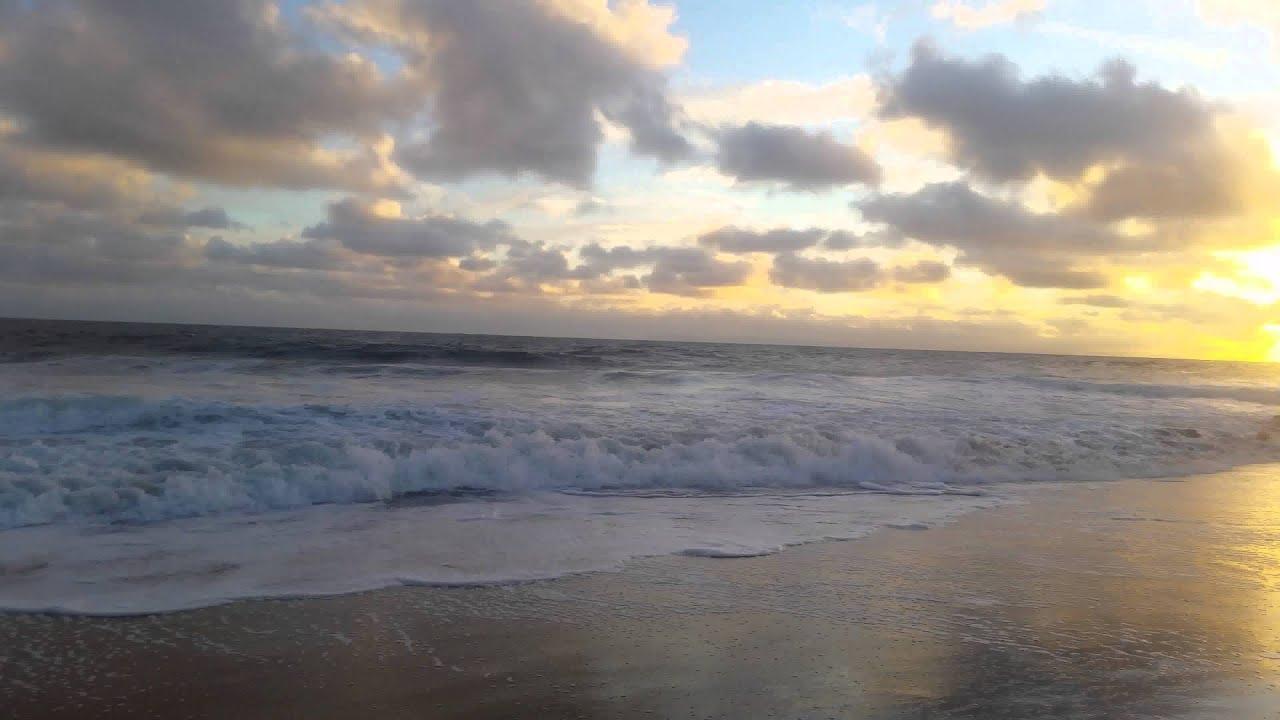 Relaxing Nature Music - Waves Crashing ~ Pacific Ocean ...  |Pacific Ocean California