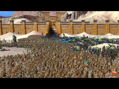 Settra does not serve! | VAMPIRE COAST vs TOMB KINGS | Total War WARHAMMER 2 Cinematic Battle |