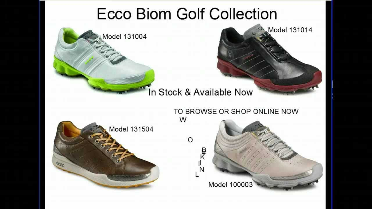 Ecco Biom Golf Shoes Collection Four Great New Styles From The Shoe