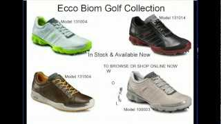 Ecco Biom Golf Shoes Collection Four Great New Styles From The Ecco Biom Golf Shoe Collection