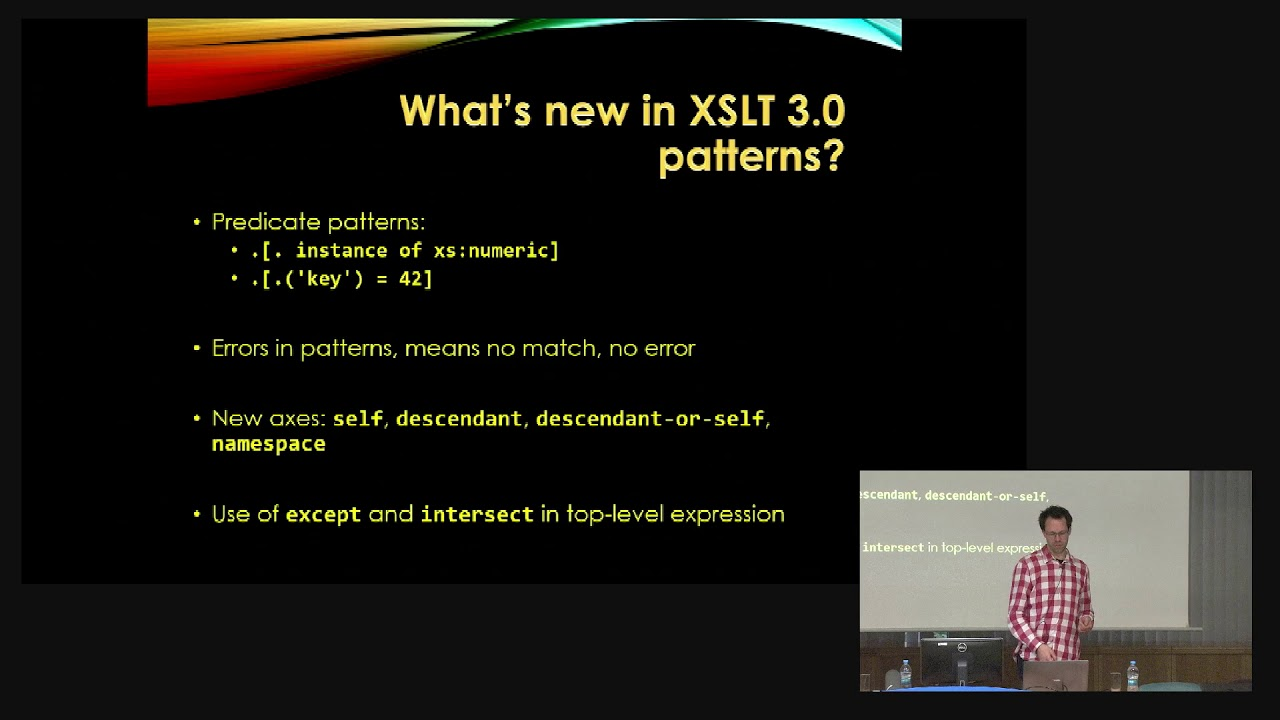 11 Abel Braaksma Exselt Powerful Patterns With Xslt 3 0 Hidden