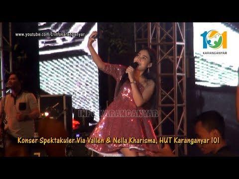 Nella Kharisma SEBELAS DUA BELAS live Karanganyar 101 bareng Via Vallen