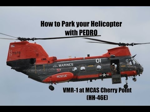 How to Park your Helicopter with VMR-1 Pedro