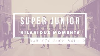 super junior hilarious moments part 7 variety show edition vol 2