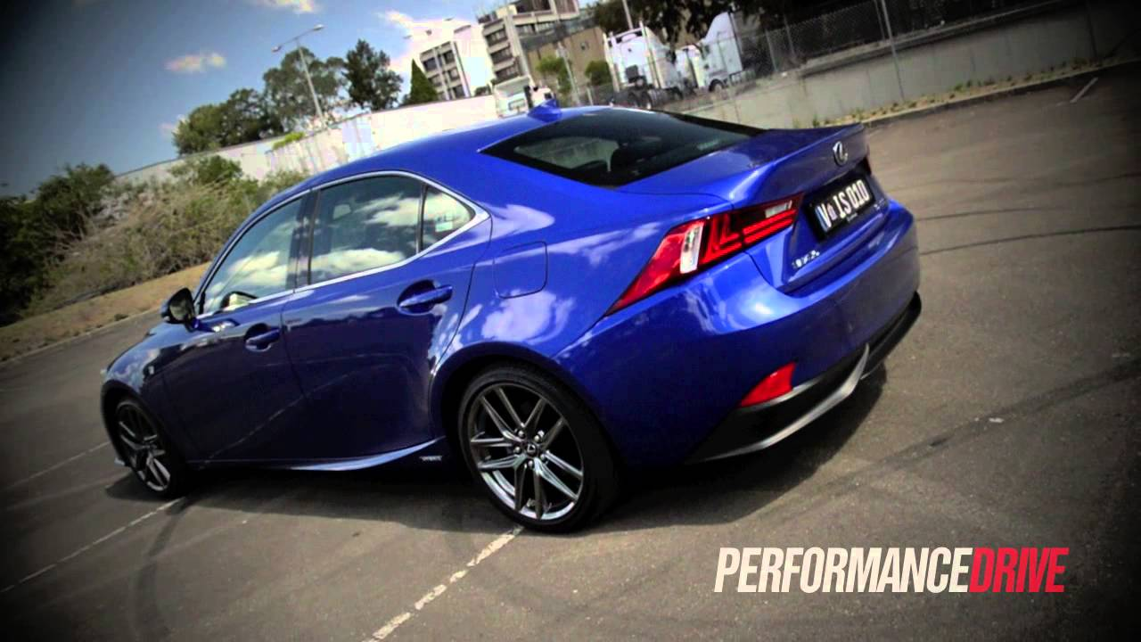 2013 Lexus Is 300h F Sport 0 100km H Acceleration Youtube