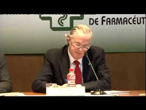 Francisco Peinado, presidente del Col. de Farmacéuticos de Huelva, y la rentabilidad de la farmacia