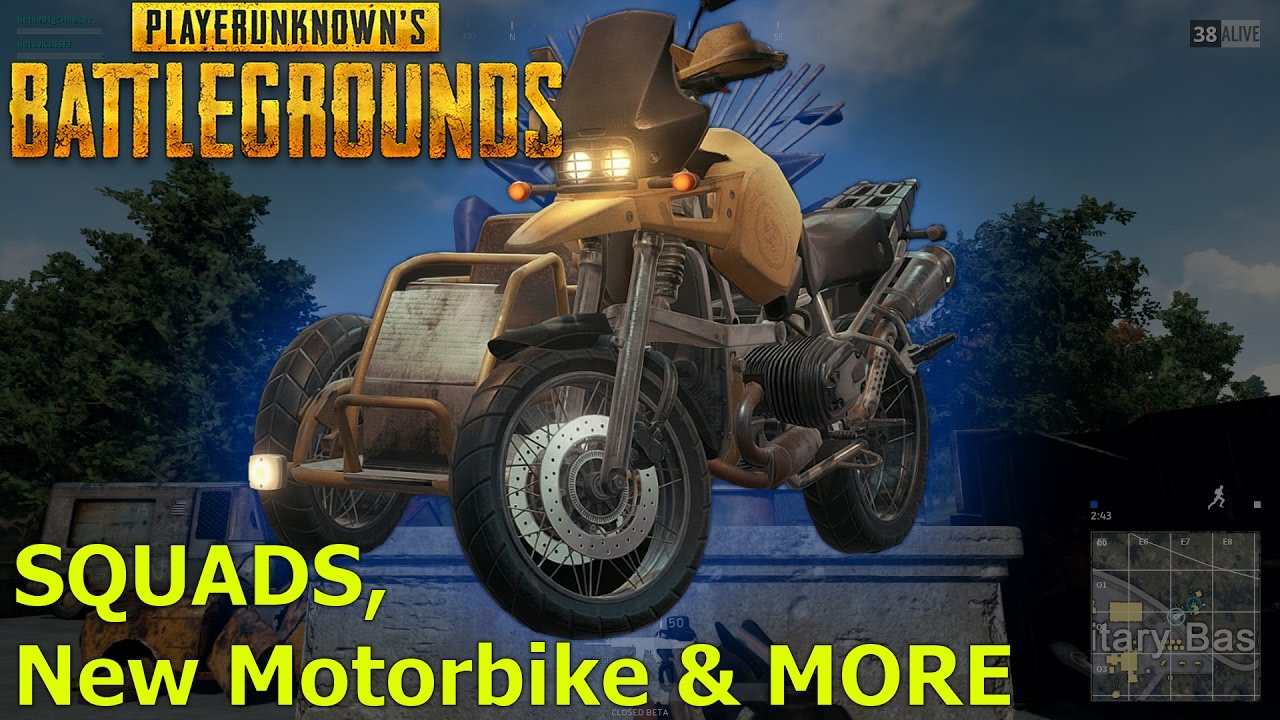 Playerunknown S Battlegrounds Gets New Update With Bug: Squads, New Motorbike & MORE!