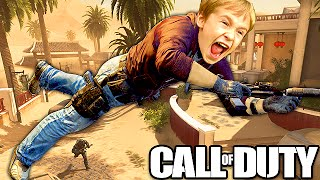 CRAZY LEVITATION HACK ON CALL OF DUTY! (Call of Duty Glitch Trolling)