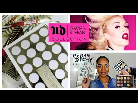REVIEW & SWATCHES ✩ *NEW* Urban Decay | Gwen Stefani Blush Palette | Lipsticks | FULL COLLECTION ✩