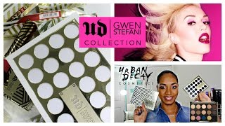 REVIEW u0026 SWATCHES ✩ *NEW* Urban Decay | Gwen Stefani Blush Palette | Lipsticks | FULL COLLECTION ✩