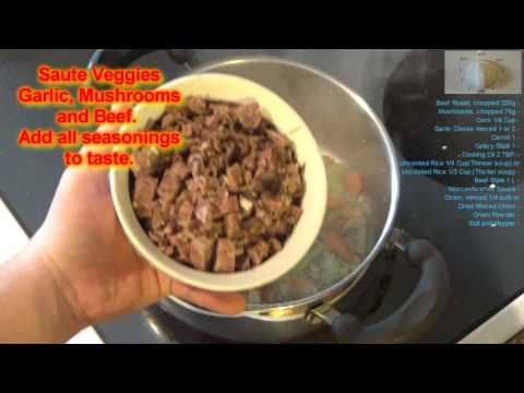 How to: Make Beef and Rice Soup