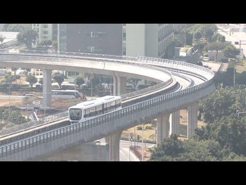 Macao's 1st Light Rail Officially Starts Service