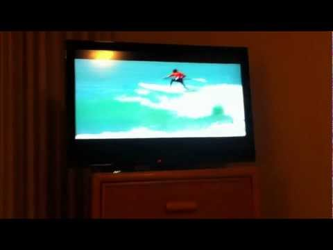 Stand up surf on Cable Tv Maui Hawaii July 2012